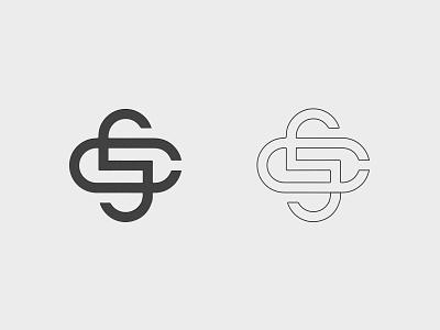 Cyberlelics Society cs s c icon monogram typography logo branding