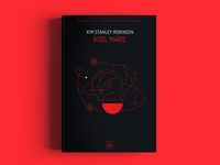 Red Mars kim stanley robinson red mars trilogy mars ithaki cover book branding illustration