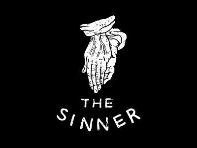 Sinner lettering drawn hand sinner