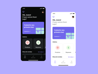 Jewelry Dashboard App with Dark 🌙 and Light ☀️ Mode jewelry design app interface concept clean