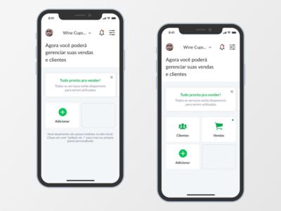 Dashboard - Sales Application