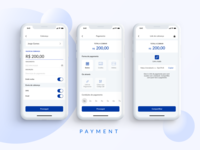 Payments screens - App Banking.