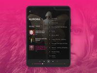 Music Player - Component