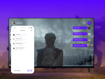 Chat Widget for TV - Component