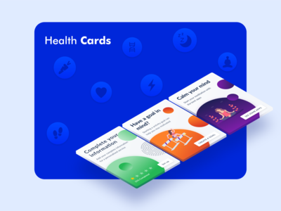 Health Cards - Dashboard App