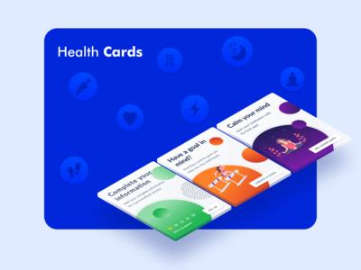 Health Cards - Dashboard App