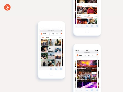 🐝 Hornet Networks - Mobile Web app