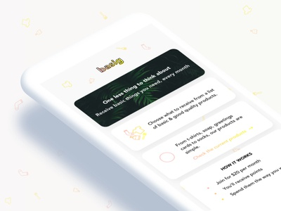 basig - homepage preview