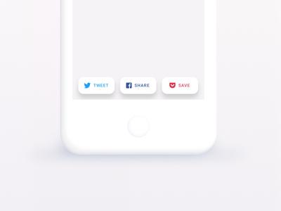 👐🏻 DailyUI #010 - Social Share