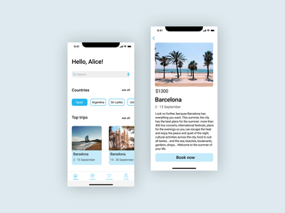 Travel app ios mobile mobiledesign ux app iosapp ios booking bookingapp travel travelapp