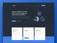 Payment Solutions - Landing Page
