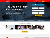 Skilleo candidate homepage