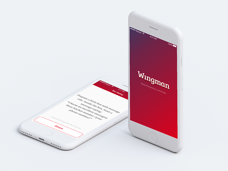 Wingman red mobile ios