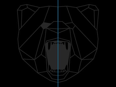 Concept Sketch help geometric black concept animal tshirt
