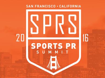 Sports PR Summit SF Hosted by Twitter sports illustration design logo branding