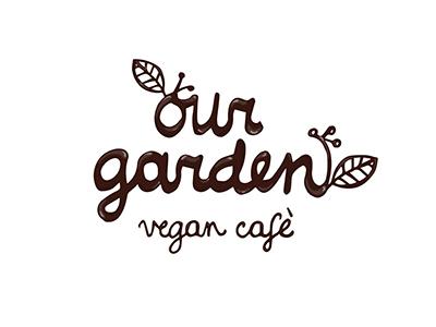 our garden vegan cafe logo