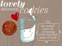 lovely oetmeal cookies.