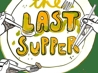 last supper. poster.
