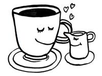 coffee & cream.