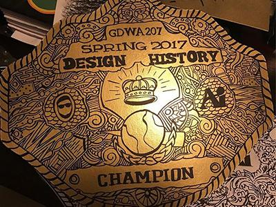 Championship Belt art institute of austin champion illustration design history championship belt
