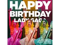 Erwin Center - Lady Gaga Birthday