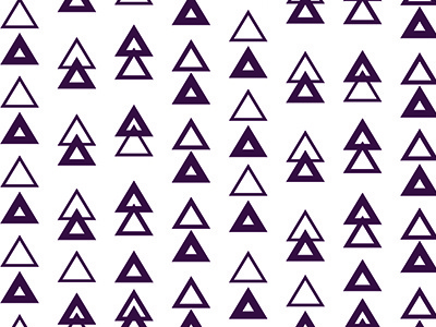 Triangles chance vector deep purple pattern triangles