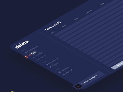 DELRU - UX/UI Prototype. app ui ux graphic design