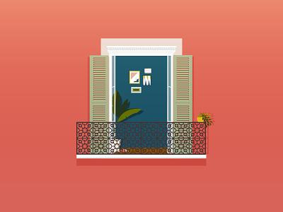 Window - Persienne // 05 window graphic nice print illustration