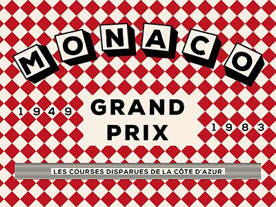 Lost Races : The French Riviera vol. 2 cycling french riviera nice prix grand cannes monaco illustration design color retro