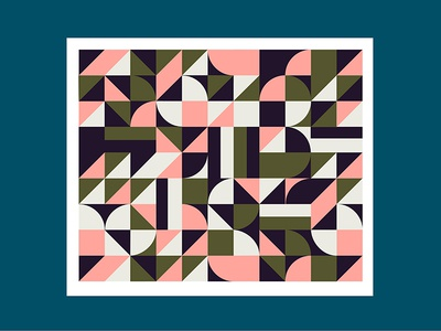 Pattern papetery pattern color print illustration