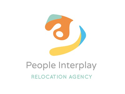 People Interplay logo italy florence agency relocation moving interplay people logo pictogram