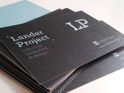 Our Business Card logo corporate marketing business businesscard branding universe space project collective design lander