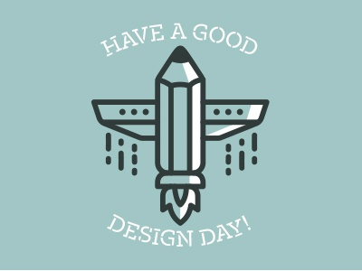 Have a good design day guys! spaceship lander astronaut line lineart icon invitation pencil design