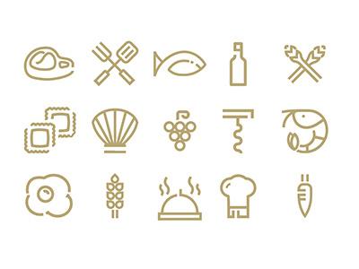 ICON BIXTROT kit fooddesign kitchen restaurant food icondesign icon