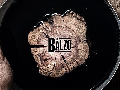 Wood print Il Balzo wine type wood