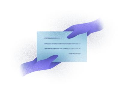 Contract website web u ui minimal illustration icon handmade graphic flat design brush branding app animation