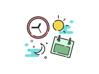 Specific date calendar date iconography icon illustration iphone logo ui app ui ux