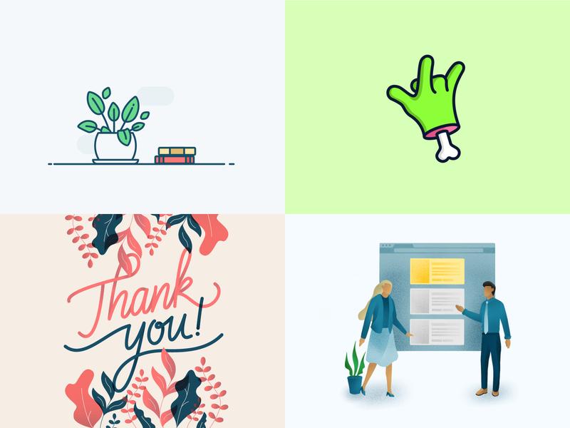 2018 vector graphic logo ux icon ui typography handmade illustration calligraphy lettering brush design