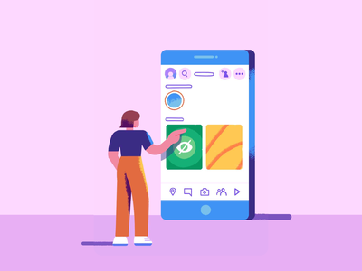 Snapchat Discover Show - Character Design palette character design characters episode safety channel snapchat mobile colours vector graphic branding ui people inspiration texture design illustration