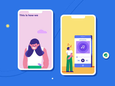 Snapchat - Discover Show privacy colour episode snap mobile ui safety channel snapchat story frame 2d animation character design vector graphics motion graphics motion texture design illustration