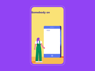 Snapchat Discover Show - Verify your Email and Mobile Number 2d animation motion motion graphics graphics vector character design character safety channel episode snapchat branding people inspiration texture design illustration
