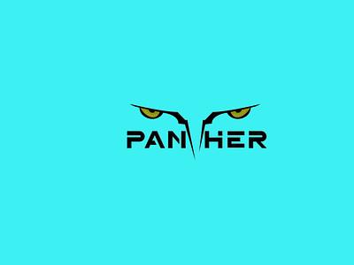Panther design branding logo graphic design 3d