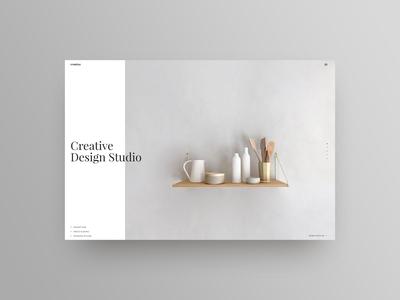 Creative Design Studio header hero wordpress creatus
