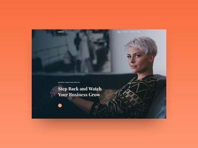 Advito – Modern Business WordPress Theme Concept contact digital agency about header hero design wordpress creatus