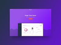 Vibrant – Colorful SaaS WordPress Theme Concept
