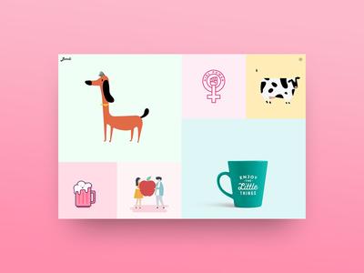 Bardi - Personal Portfolio digital agency creatus wordpress article page blog design blog portfolio