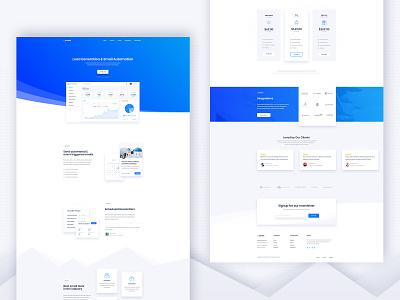 Conexi - SaaS Landing app landing app saas landing page saas design digital agency hero wordpress creatus