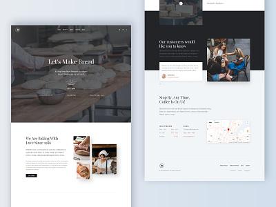 Bakerio - Modern Bakery blog design bistro coffee shop restaurant bakery design contact about creatus wordpress