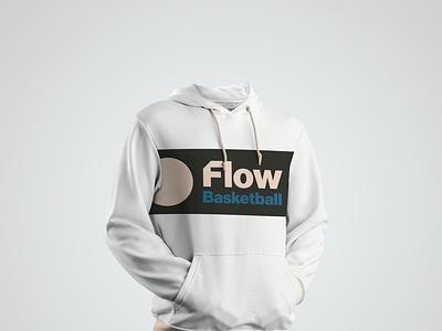 Flow Basketball website design merch branding identity logo design web design