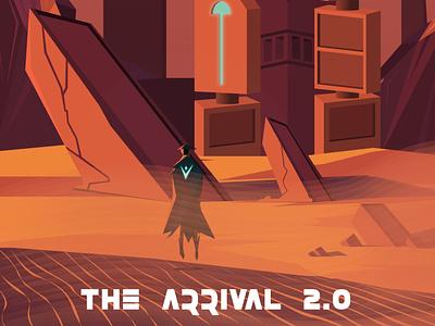 The Arrival 2.0 - Digital Illustration branding design illustration digital illustration graphic design adobe illustrator